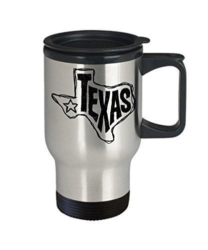 Texas Tumbler Texas Coffee Travel Mug Texas Mug