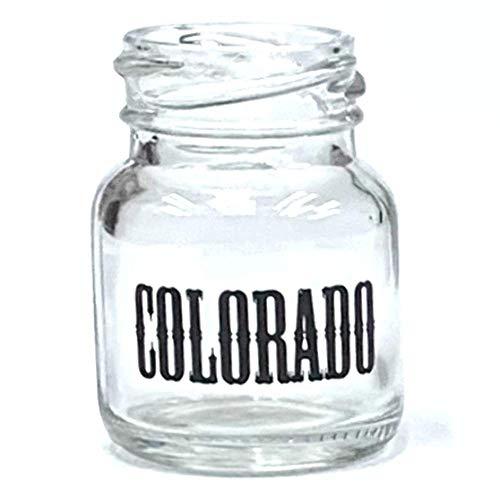 Colorado Mason Jar Shot Glass