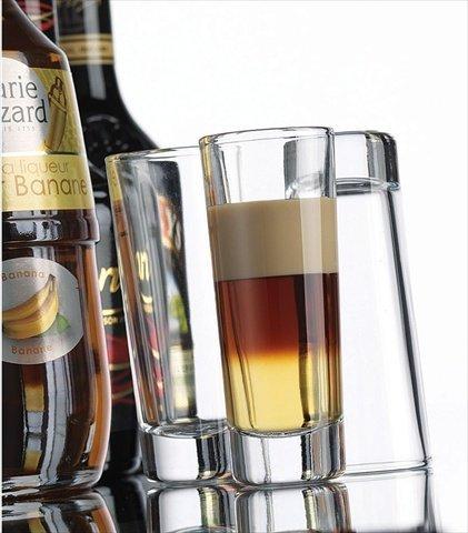 Home Essentials 5740 2 Oz Vodka Shot Glass Set of 6
