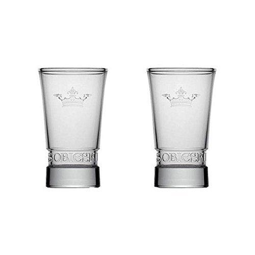 Sobieski Vodka Shot Glasses Set of 2