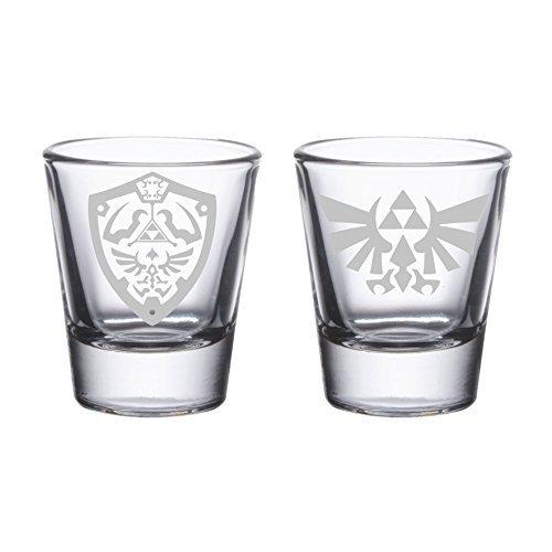 Legend of Zelda - Etched Shot Glasses
