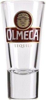Olmeca Tequila Shot Glasses Set Of 4 Bar Glasses 2Cl4Cl Lined