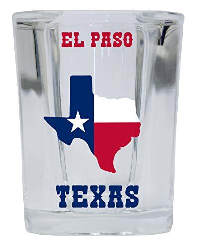 El Paso Texas Square Shot Glass