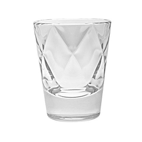 Barski European Glass - Whiskey Shot Glasses - Artistically Designed - 26 oz - Set of 6 - Made in Europe
