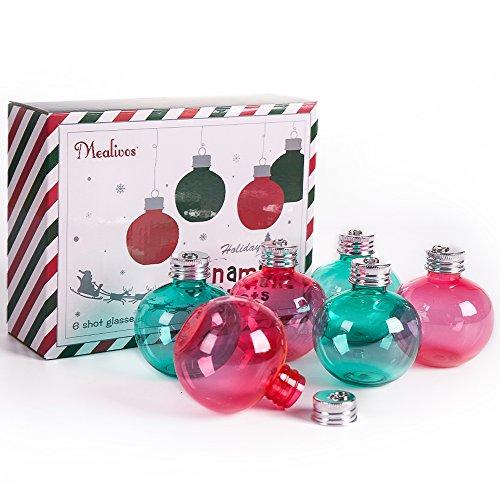 Mealivos Christmas Spirit Shot Glasses set of 6