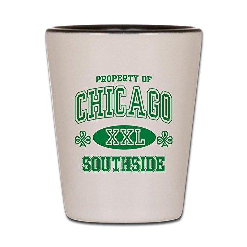 CafePress - Chicago Southside Irish - Shot Glass Unique and Funny Shot Glass