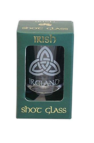 Trinity Knot Irish Shot Glass