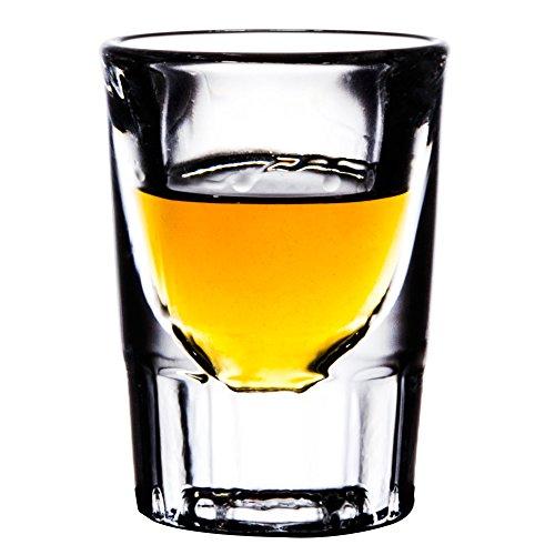 Libbey 5135 Fluted Whiskey  Shot Glass 1 14 oz SET of 6 wBonus FDL Picks