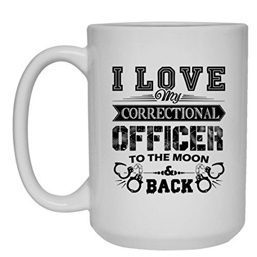 Correctional Officer Mug Coffee Correctional Officer White Beer Stein Mug Travel Mugs Ceramic Best Gifts White Mug 15oz