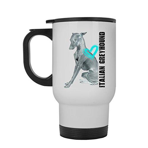 Italian Greyhound Mug Coffee Ceramic Italian Greyhound Travel Mugs White Beer Stein Mug For You And Family White Travel Mug