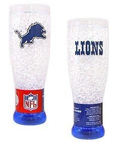 Detroit Lions Crystal Pilsner Glass