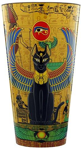 Egyptian Cat Plastic Pint Glass