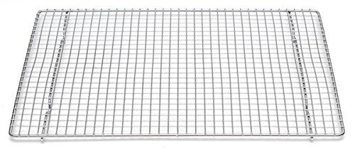 Professional Cross Wire Cooling Rack Half Sheet Pan Grate - 16-12 x 12 Drip Screen 2 Pack