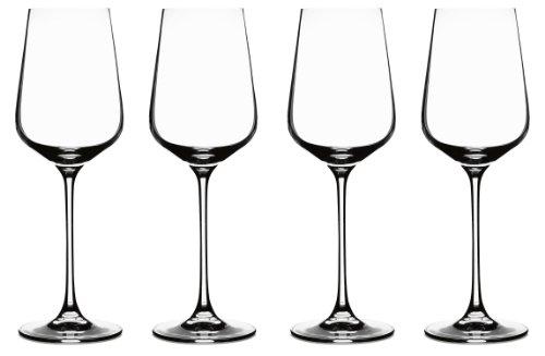 Cuisinart CGE-01-S4WW Elite Vivere Collection White Wine Glasses Set of 4