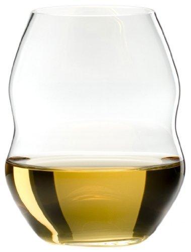 Riedel Swirl White Wine Glasses Set of 4