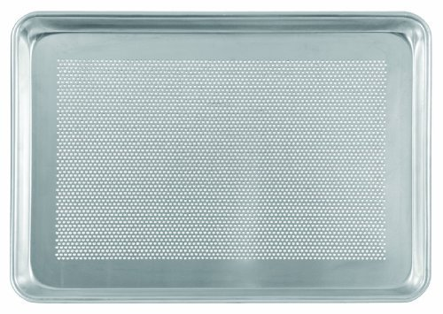 Crestware 9 by 13 by 1-Inch Perorated Quarter Sheet Pan by Crestware Commercial Kitchen