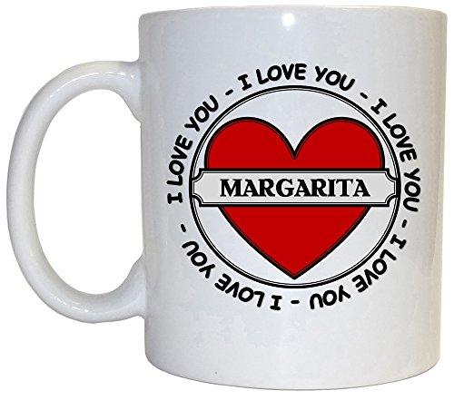 I Love You Margarita Mug 1006