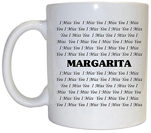 I Miss You Margarita Mug 1004