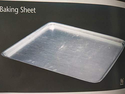 PLANET 007 Aluminium Baking Sheets Baking Tray Bakeware Baking Oven Tray Bakery Tools 2 LTR Capacity 14 x 18 Pack of 2 Sheets