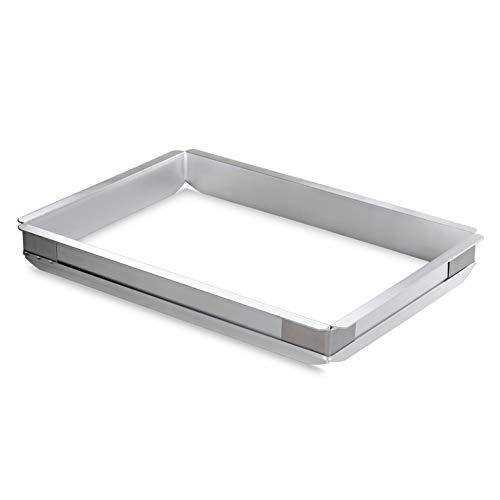 New Star Foodservice 42580 Aluminum Sheet Bun Pan Extender 13 x 18 inch Half Size