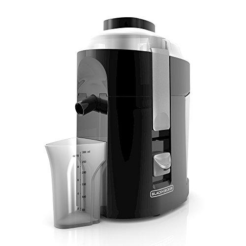 BLACKDECKER 400-Watt Fruit and Vegetable Juice Extractor Black JE2200B