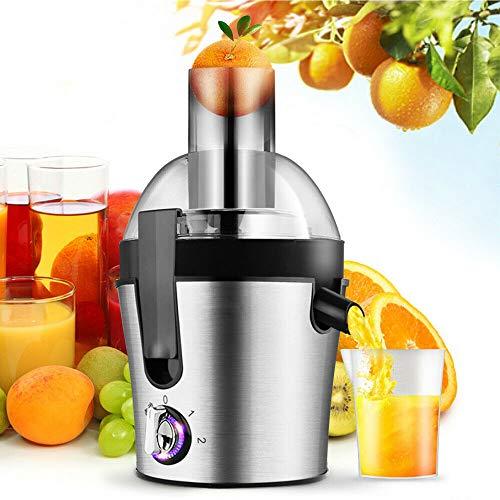 Juicer 1000ml Fruit and Vegetable Juice Extractor 300W Commerical Electric Fruit Vegetable Juicer Blender Grinder Machine Stainless Steel Centrifugal Juice Fountain Milkshake Blender