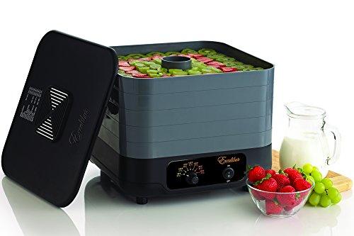 Excalibur ECB50B 5 Tray Stackable Food Dehydrator Beef Jerky Machine Snack Fruit Dryer Vegetable