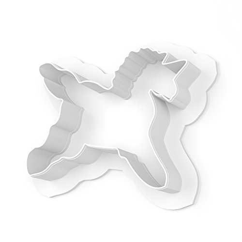 Unicorn Cookie Cutter - LARGE - 4 Inches