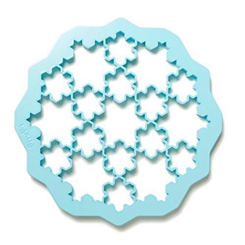 Lekue Snowflake Cookie Cutter Blue