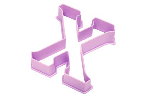 Live Greek-Greek Letter Shaped Cookie Cutter-CHI Shape-Measures 3 Long x 275 Wide 1 piece per package