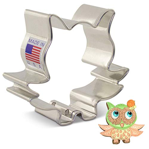 Ann Clark Cookie Cutters Small Owl Cookie Cutter by Sugar Chat 25