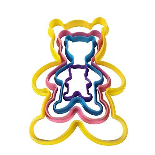 Teddy Bear Cookie Cutter set