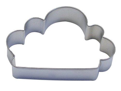 CybrTrayd RM-0869-12LOT R&M Cloud Cookie Cutter Set of 12 4 Metallic