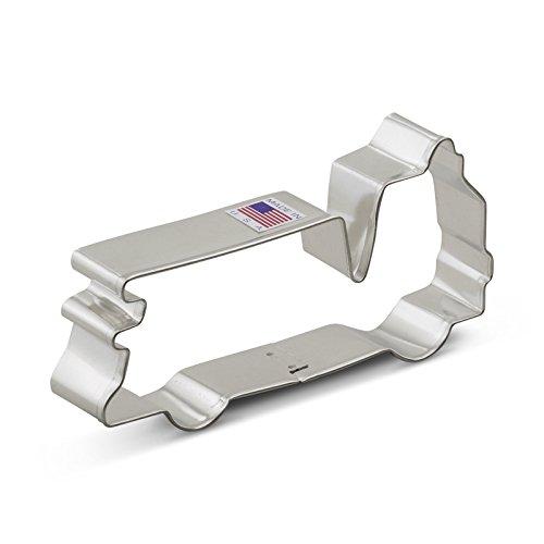 Ann Clark Firetruck Cookie Cutter - 5 Inches - Tin Plated Steel