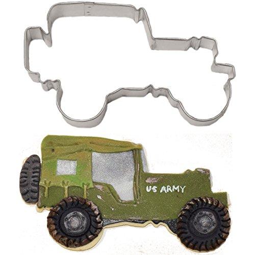 Military Truck Cookie Cutter 425 in