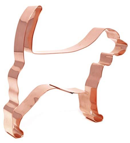 Beagle Dog Breed Copper Cookie Cutter