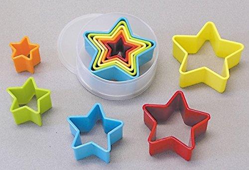5 Piece Nested Star Cookie Cutter Set