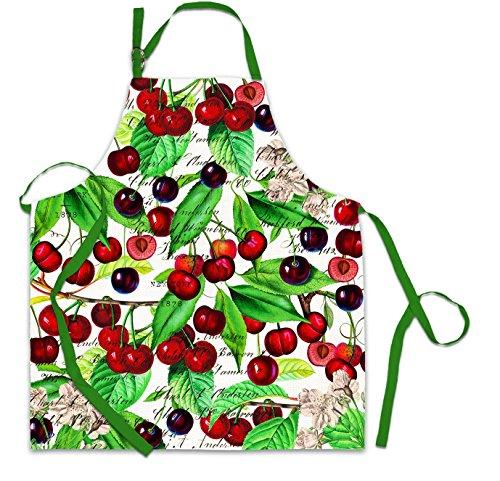 Michel Design Works Cotton Chef Apron Black Cherry