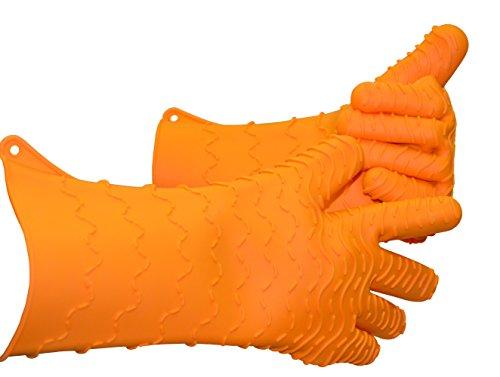 Charcoal Companion Max Heat-Resistant Silicone BBQOven Glove - CC5157