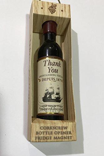 Bottle OpenerCorkscrew ~ THANK YOU ~ CorkscrewBottle Opener Fridge Magnet