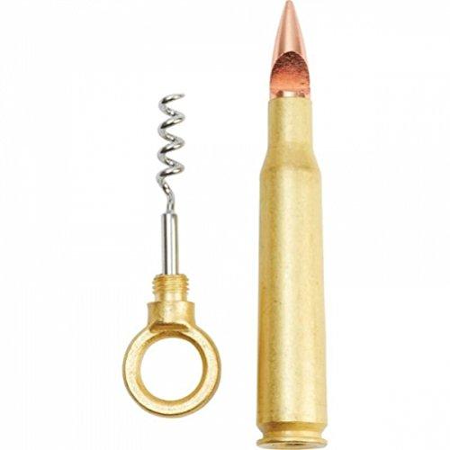 Maxam Bullet-shaped Corkscrew And Bottle Opener
