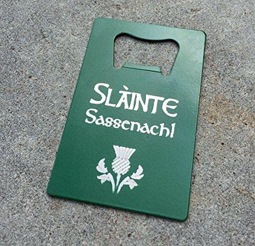 Slainte Sassenach Wallet Bottle Opener