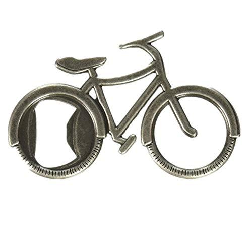LetsYoga LetS Go on An Adventure Bicycle Bottle OpenerAntique bronze art toned bottle opener