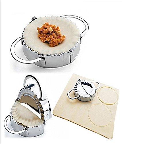 ZY  Pastry Tools Stainless Steel Dumpling Maker Wraper Dough Cutter Pie Ravioli Dumpling Mould Kitchen Accessories 95cm