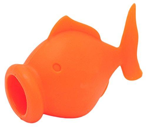 Zeroyoyo Silicone Egg Separator Fish Shape Yolk Extractors 1PCS