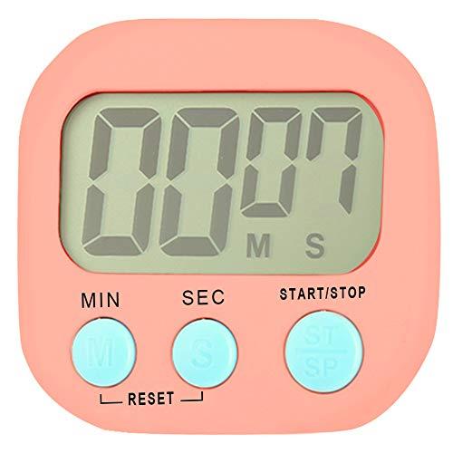 Kitchen Timer Digital Cooking Timer Magnetic Countdown Clock Loud Alarm Magnetic Kitchen Timer with Large LCD Display
