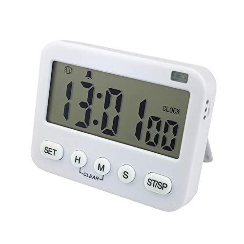 Home kitchen silent vibration large screen timer Cooking baking reminder timer Mini portable reminder buzzer