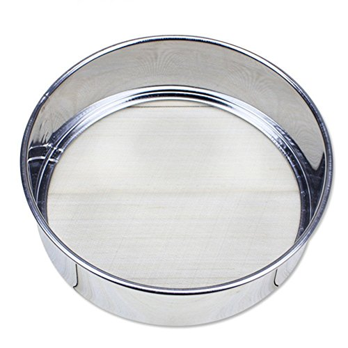 Professional Round Stainless Steel 6 Inch Fine Mesh Flour Sifter