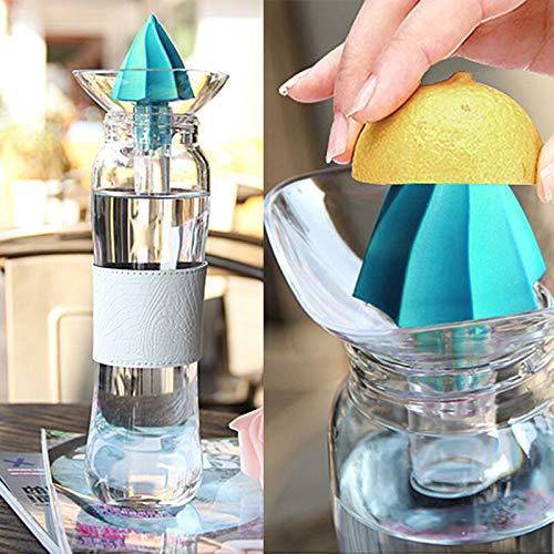 FidgetKute Mini Manual Hand Citrus Juicer Orange Plastic Squeezer Lemon Fruit Press Juice Show One Size