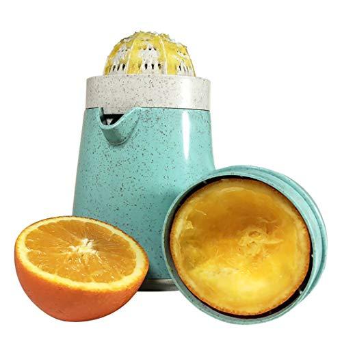 JUSTDOLIFE Hand Citrus Juicer Creative Rotate Manual Juicer Fruit Juicer for Apple Pear